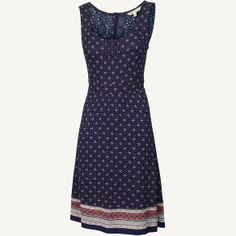 Robyn Lace Baroque Tile Dress at Fat Face