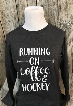 """Lol this is me to a """"T"""" another 4 games this weekend. Lol this is me to a """"T"""" another 4 games this weekend. Hockey Shirts, Hockey Teams, Hockey Players, Hockey Stuff, Hockey Apparel, Hockey Tournaments, Flyers Hockey, Hockey Party, Hockey Birthday"""