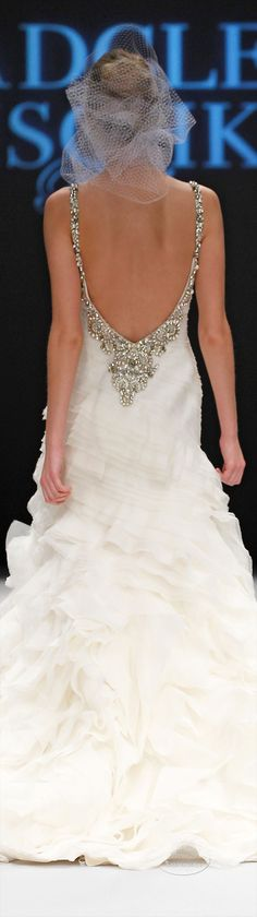 Badgley Mischka Spring 2015 Bride.