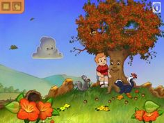 Discount: The Tree I See - Interactive Storybook for iPhone & iPad is now 0.99$ (was 2.99$) - an interactive animated book about friendship and sharing. #sale #4july #kids #apps