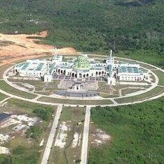 This is the great mosque Natuna