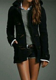 New Abercrombie Fitch AF Womens Adriana Joanna Wool Coat Jacket Hoodie XS M L
