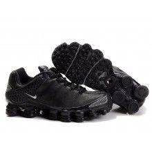 ecbcab8ca144 Nike Womens Shox TL3 black All White Shoes Mens