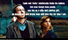 Professor Lupin and Tonks