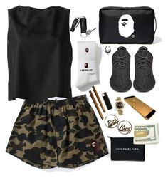 """Hu$$le"" by milean ❤ liked on Polyvore featuring JC de Castelbajac, adidas Originals, Joyrich and Rolex"