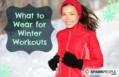 Perfect Layering for Winter Workouts via @SparkPeople
