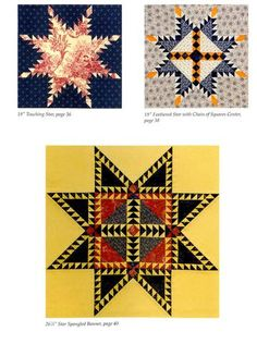 Feathered Star Quilt Blocks - II – Quilting Books Patterns and Notions