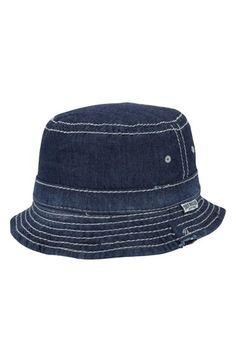9cfe6945aad True Religion Brand Jeans Reversible Denim Bucket Hat Jeans Brands