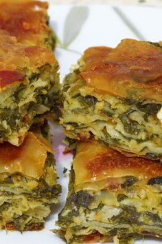 Spanakopita (Greek Spinach & Feta Pie) Recipe