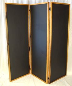 "SCREEN - ""Schermo"" - Room Divider / Screens made from reclaimed wine tank wood - folding"