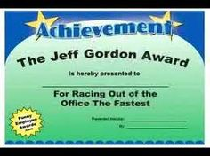 Image result for funny employee awards