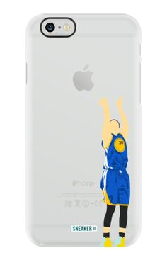 """SneakerSt Basketball """"Curry"""" TPU Rubber Phone Case"""