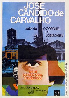 Typographic cover design by Eugênio Hirsch, circa 1974