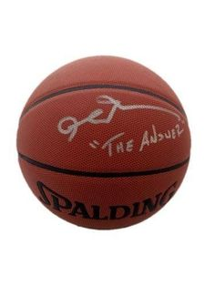 """Allen Iverson """"The Answer"""" Spalding Indoor/Outdoor Signed Basketball - JSA Certified - Autographed Basketballs ** See this great product."""