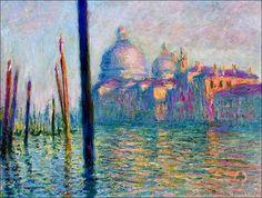 Claude Monet - Grand Canal, Venice, 1908