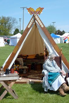 viking tent carving - Google Search