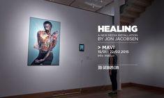 """""""Healing"""" @ MAVI (Museo de Artes Visuales). Santiago, Chile"""