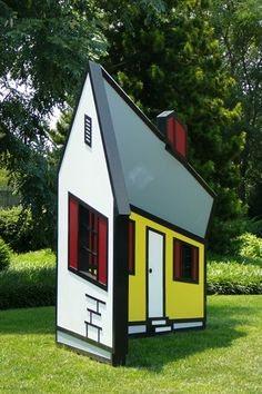 RoyLichtenstein House I, Model 1996, Fabricated 1998, Collection The ...