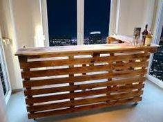 ladentheke aus europaletten mit led beleuchtung europaletten pinterest ladentheke led. Black Bedroom Furniture Sets. Home Design Ideas