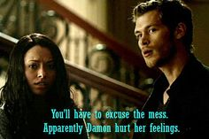 Klaus Mikaelson Quotes - Vampire Diaries Season 3 - Best Character Quotes
