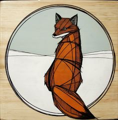 http://en.reddit.com/r/foxes/comments/1oneti/quick_painting_i_did_for_a_charity_event_it_will/  I. Love. This.