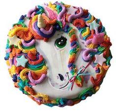 Lisa Frank Unicorn Cookie