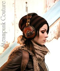 By Steampunk Couture - I want every single wearable item in this photo.