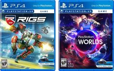 Sony has come up with a very casual way of differentiating the VR-only games from PS4. Check out the box art of PlayStation VR games.