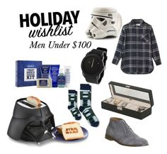 """""""Men's Holiday Gift Guide"""" by amarie1124 on Polyvore featuring Office, Diesel, Kiehl's, Allurez and Toast"""