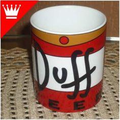Caneca Duff! Mugs, Homer, Simpsons