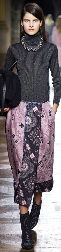 Dries Van Noten.Fall 2015.