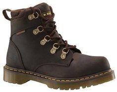177caa980876 Dr. Martens Holkham Steel Toe 5 Tie Hiker Gaucho