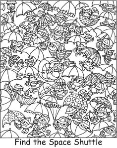 Welcome to Dover Publications Coloring Book Pages, Coloring Pages For Kids, German Language Learning, Spanish Language, French Language, Hidden Picture Puzzles, Teaching Time, Teaching Spanish, Hidden Words