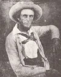 "Legendary lawman Texas Ranger William A. A. ""Big Foot"" Wallace is born in 1817. A descendant of Scottish Highlanders William Wallace & Robert The Bruce. Half outlaw and half soldier Rangers fought both outlaws & Indians via google.com."
