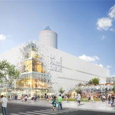 Schmidt Hammer Lassen Designs MixedUse Development In Central - A step up in amazing architecture la