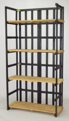 Specialty Wood Products - Folding Shelf Display