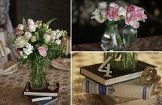 оформление свадьбы книгами #wedding #decor #books
