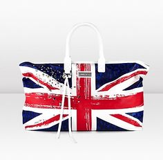 Modern Handbag British Flag Euro 2012 Jimmy Choo Collection Trends 2012