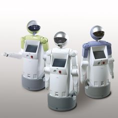 """Real Robots for Sale   Fujitsu Begins Limited Sales of Service Robot """"enon"""" For Task Support ..."""