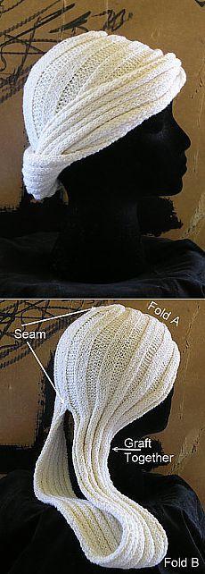 Чалма из шарфа