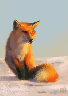 A Little Fox on Behance ★ Find more at http://www.pinterest.com/competing/