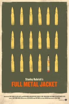 Minimalist Movie Poster: Full Metal Jacket