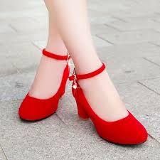 Resultado de imagen para zapatos rojos de mujer