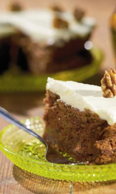 Kesäkurpitsakakku   Maku Baking, Desserts, Food, Tailgate Desserts, Deserts, Bakken, Essen, Postres, Meals