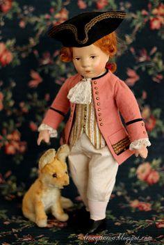 Lena Grineva, art dolls: Малыш Kruse или маленький принц ...