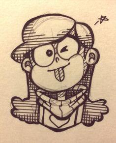 hope ya like Gravity falls — Mabel F5!