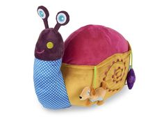 OOPS - SOFT FRIENDS SNAIL Playpen, Preschool Toys, Activity Centers, Snail, Infant, Coin Purse, Backpacks, Wallet, Animals