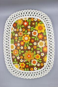 Shops, Kitchen Ware, Vintage Kitchen, Flower Power, Pot Holders, Etsy Shop, Retro, Floral Patterns, Diy Kitchen Appliances