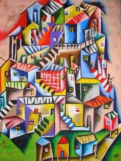 Favela inspired Paintings