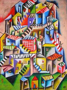 Favela inspired Paintings